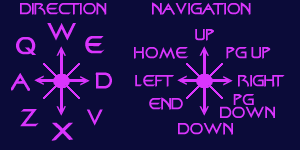 directional keys
