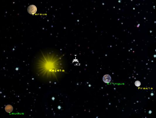 Klingon core planets