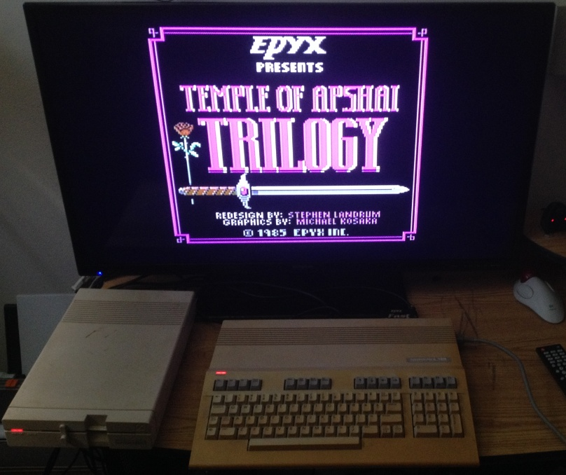 Temple of Apshai - C64
